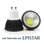 Bombilla con led Epistar Spotlight cob 5 w 220v Luz NATURAL 350lm 60g