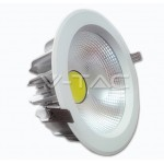 Downlight led COB 30w luz blanca 6000k 220v EPISTAR