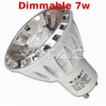 Bombilla led Epistar 7w Dimmable luz Calida  GU10 220V 420LM